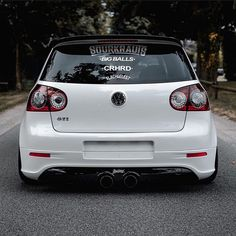 "Volkswagon NEW 19/"" Beetle bug GTI Jetta VW Sticker Decal Vinyl euro swag fresh"