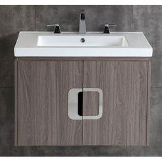 """Bellaterra Home 30"""" Single Bathroom Vanity Set"""