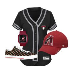 Looking for this Arizona Diamondbacks outfit? Click the link to find them and so much more!