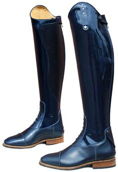 De Niro Ottaviano boots - black patent - Wow these are nice! Premium show boots.