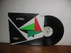 Asfalto  Maxi 45 RPM Rare Vintage Promo Spain 1985
