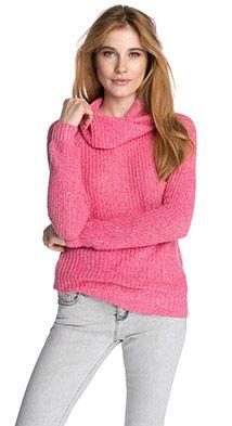 Esprit / Meleret grovstrik-pullover