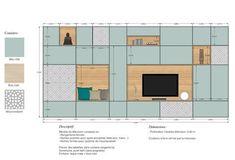 Prestations - Architecture, Décoration, Home Staging, Lyon Moderne Pools, Interior Design Presentation, Architectural Presentation, Tv Unit Design, Living Room Tv, Cabinet Design, Home Staging, Interior Architecture, Furniture Design