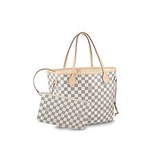 Louis Vuitton Damier Azur Canvas Neverfull MM Rose Ballerine – The Fashion Mart Louis Vuitton Kimono, Louis Vuitton Handbags, Louis Vuitton Monogram, Best Designer Bags, Canvas Handbags, Women's Handbags, Luxury Handbags, Louis Vuitton Neverfull Mm, Shoulder Handbags