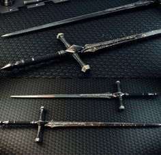 Photo realistic render of sword Ninja Weapons, Anime Weapons, Sci Fi Weapons, Armor Concept, Weapon Concept Art, Weapons Guns, Fantasy Sword, Fantasy Armor, Fantasy Weapons