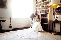 Fonmon Castle Wedding - Stacey & Spencer's boho Vale of Glamorgan wedding shot by Pycroft Weddings.