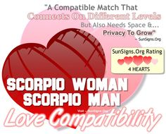 Aries man scorpio woman sexually