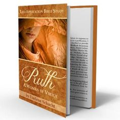 """Free eBook """"Ruth - A Woman of Virtue"""" Life Application Bible Study """"like"""" Time-Warp Wife on Facebook"""