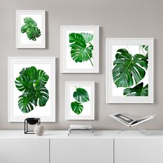 Canvas Poster, Canvas Art Prints, Canvas Wall Art, Living Room Pictures, Wall Pictures, Name Paintings, Nordic Art, Leaf Wall Art, Panel Art