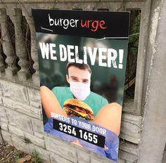 Burger Urge : la publicité qui choque pour la livraison de hamburgers à domicile #pub #ad #burger #australia #food
