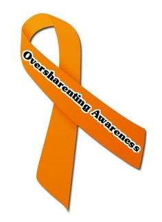 Oversharenting Awareness Ribbon