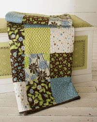 Big Block Easy Quilt