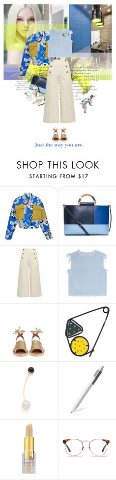 """A daily report"" by laste-co ❤ liked on Polyvore featuring LOVA, Ostwald Helgason, Tory Burch, Sonia Rykiel, Marc by Marc Jacobs, Kaanas, Loewe, Amber Sceats, Moleskine and Napoleon Perdis"