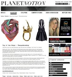 PlanetNotion  - Notion Magazine featured THEN AND NOW SHOP