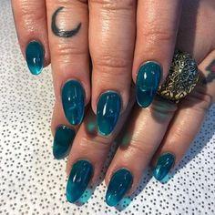 Fashion Neon Color Jelly Glass Gel Soak Off Varnish UV Nail Polish Manicure Art . - Fashion Neon Color Jelly Glass Gel Soak Off Varnish UV Nail Polish Manicure Art Uv Nail Polish, Uv Nails, Coffin Nails, Jade Nails, Galaxy Nails, Nail Polish Designs, Glitter Nails, Nagellack Design, Tattoo Trend