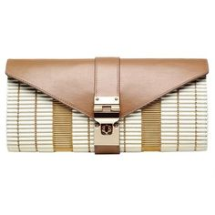 Talla Clutch. Metallic and leather combine for high style with the covet-worthy Talla Clutch. $1,150.00