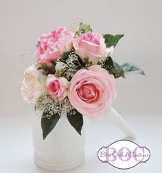 Bridesmaid Bouquet by blueorchidcreations