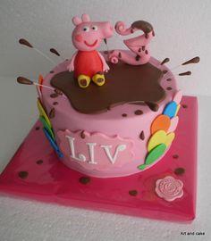 Peppa Pig cake/taart