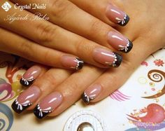 faded french nails To Get French Tip Nail Designs, French Tip Nails, Cute Nail Designs, Toe Nail Art, Toe Nails, Acrylic Nails, Purple Nail Art, Nails Now, Light Nails