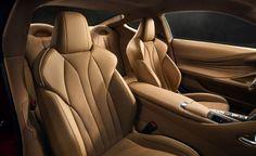 2017 Lexus LC500 Coupe Dissected: Design, Powertrain, Chassis, and More – Feature Lexus Lfa, Lexus Coupe, Best Car Interior, Mid Size Sedan, Automobile, New Lexus, Detroit Auto Show, Performance Cars, Car And Driver
