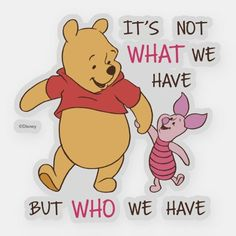 Pooh Customizable Custom-Cut Vinyl Sticker made by Zazzle Paper. Personalize it with photos & text or shop existing designs! Pooh And Piglet Quotes, Cute Winnie The Pooh, Winnie The Pooh Sayings, Winnie The Pooh Christmas, Winnie The Pooh Pictures, Eeyore, Disney Quotes, Bff Quotes, Friend Quotes