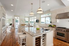 Waterfront Estate - traditional - kitchen - vancouver - jodi foster design + planning