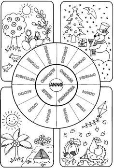 37 Fantastiche Immagini Su I Mesi Dell Anno Autism Calendar E