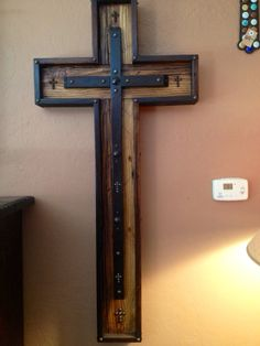 Hand Made Reclaimed Wooden Cross by Zoutwest on Etsy, $349.00