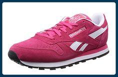 Reebok Classic Leather Suede, Damen Sneakers, Rot (Blazing Pink White Black Gold  Met), EU (UK 3   US - Reebok schuhe ( Partner-Link) 8a1f55492e