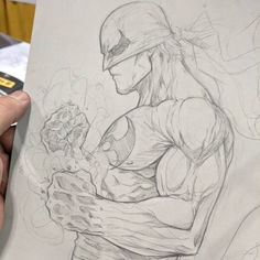 Iron Fist by Vince Sunico #ironfist #torontocomiccon #powermanandironfist