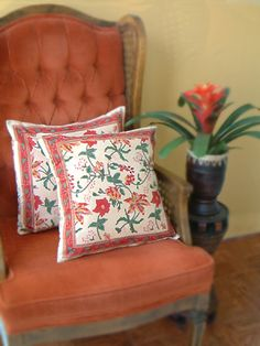 Colorful Country Cottage THROW CUSHION COVER: Forget the swaying palm trees and pink flamingos and use these lush, floral shams to infuse your bedroom with the spirit of the island. Throw pillows are the quickest way to change the look of your bedding. Place them over pillow shams or toss on the bed for an extra dose of color. They are also a perfect way for you to express your unique decorating style.