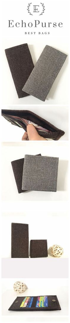 Handmade Vintage Style With Zipper Wallet, Women Purse, iPhone Wallet, Card Holder BB404-Z