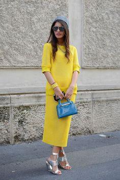 Amarelo = cor acolhedora...