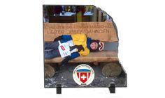 Foto-Granit 200 x 200 mm, Personalisierte Geschenke – Beney Plus Skiing, Photos, Arosa, Keepsakes, Personalized Gifts, Granite, Ski