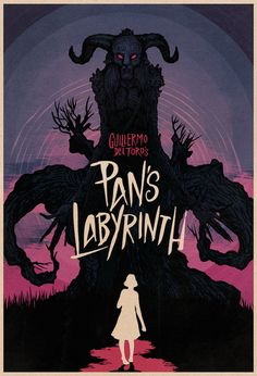 Pan's Labyrinth A definite favourite first watch. (Poster Design & Illustration by Matthew Griffin) Best Movie Posters, Cinema Posters, Movie Poster Art, Cool Posters, Genre Posters, Great Films, Good Movies, Poster Minimalista, Plakat Design