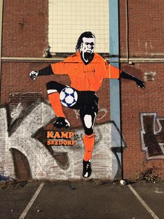 Illustraties - kamp Seedorf - Edgar Davids Edgar Davids, Football Soccer, The Man, Cool Art, Street Art, Superhero, Simple, Sports, Inspiration