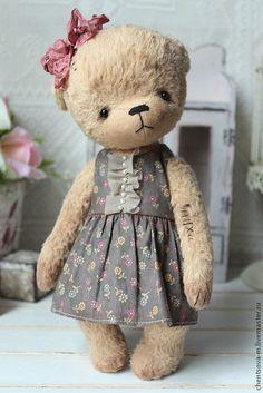 Купить Катя.. - мишка, мишки тедди, мишка ручной работы, медвежонок, коллекционные медведи