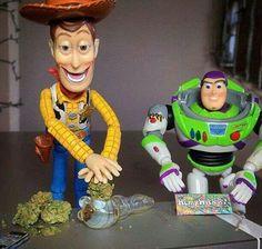 Pack that bowl Woody! Lol