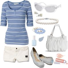 Cool Blue, created by smgilreath.polyvore.com