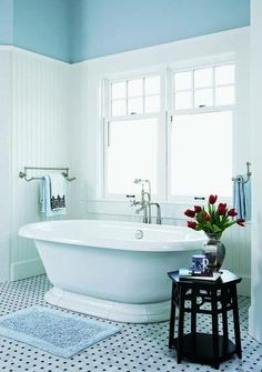 stand alone tubs are so gorgeous.