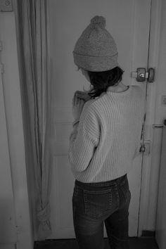 Cozy beanie + Sweater