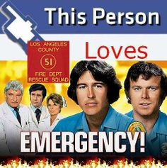emergency tv show. We love watching this show!!!