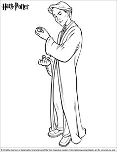 Then color this Harry Potter printable page. A fun coloring activity for everyone! Harry Potter printable page. Find and print your favorite cartoon coloring pages and sheets in the Coloring Library free! Parc Harry Potter, Harry Potter Diy, Harry Potter Printables, Disney Printables, Coloring Pictures For Kids, Coloring Pages For Kids, Harry Potter Coloring Pages, Cartoon Chef, Cartoon Coloring Pages