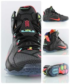 9e39598033b Nike Lebron 12  Data  - King James  twelfth Nike signature basketball shoe  in the best colorway so far