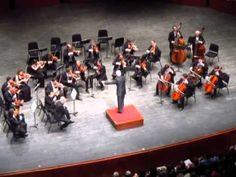 Vladimir Spivakov and Moscow Virtuosi Chamber Orchestra at NJPAC 2014. Pyotr Ilich Tchaikovsky. Serenade for Strings in C major. Pezzo in forma di sonatina.