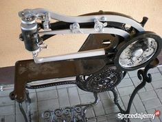 Antique Sewing Machines, Old Tools, Sewing Accessories, Leather Working, Espresso Machine, Coffee Maker, Industrial, Antiques, Antiquities