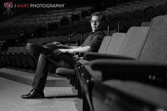 Senior Picture/ Theater/ Black and White                              …
