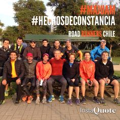 #HechosDeConstancia #MajuAm #RoadRunnersChile