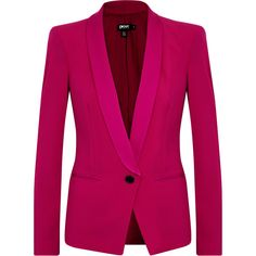 DKNY Crepe Blazer ($665) ❤ liked on Polyvore