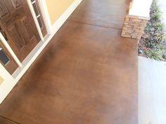 Stained Concrete for Exterior Porches  Patios | Decorative Concrete of Virginia (VA)